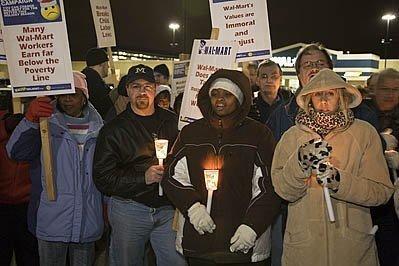 Walmart Vigil